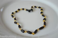 Genuine BAROCCO Baltic Amber necklace teething baby