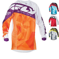 Fly Racing 2017 Kinetic Crux Youth Motocross MX Jersey Off Road Enduro Junior