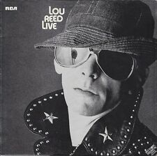 Lou Reed Lou Reed Live RCA Victor Vinyl LP