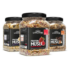 12,76€/kg Layenberger LowCarb.one Protein Müsli (3er Pack 3x 530g Dose)