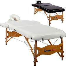 MOVIT De luxe Lit de massage 80cm large Table de massage en Set