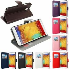 XMAS GIFT SIDE OPENING WALLET FLIP CASE COVER FOR SAMSUNG GALAXY NOTE 3 N9000