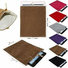 "Velvet Sleeve Pouch Slip Case Cover Bag For Any Up To 8"" Inch Tablet"