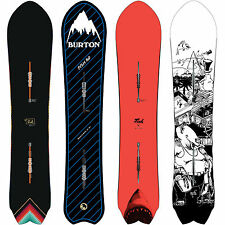 Burton Fish Powder Snowboard IC Freeride Piccolo Medio Largo Swallow Tail NUOVO