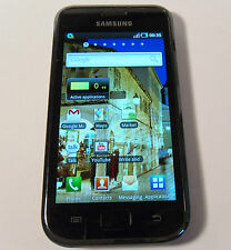 Samsung Galaxy S I9000 Black 8GB (Unlocked) Smartphone Android Mobile