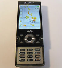 Sony Ericsson Walkman W995 - Black (Unlocked) Mobile Phone 8.1MP Camera