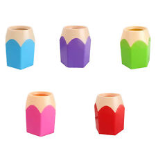 School Office Creative Pen Makeup Brush Vase Pencil Pot Stationery Container