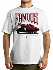 FAMOUS STARS AND STRAPS FSAS [JUICED] T-SHIRT LOWRIDER TATTOO INK CRUISIN CRUISE