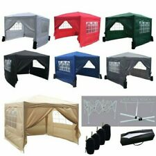 Foxhunter impermeabile 3x3m Gazebo Pop Up TENDONE GIARDINO TENDA PARASOLE FESTA