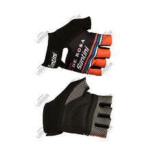 GUANTI SANTINI TEAM DE ROSA 2016 ESTIVI SUMMER CICLISMO CYCLING GLOVES
