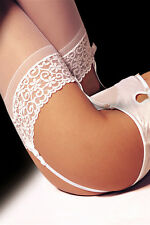 Suspenders Stockings Suspender stockings white Lace  274