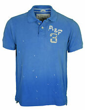 Mens Abercrombie & Fitch Muscle Polo Shirt Size Large Official