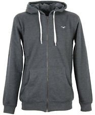 Cleptomanicx Ligull2 Hooded Zipper Jacke Heather Black grau