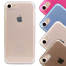 iGard iPhone 7 Ultra Slim Soft Gel TPU Cover Handyhülle Hülle Case Transparent
