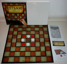 RETSAMI STRATEGY BOARD GAME VGC COMPLETE GREATEST GAME SINCE BACKGAMMON AGE 10+