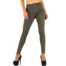 HIGH WAIST TREGGINGS SKINNY DAMENHOSE Khaki q2k1 0€