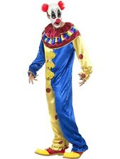 Goosebumps Clown Costume With Jumpsuit Smiffys Fancy Dress Costume