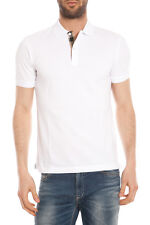 Polo Burberry Polo Shirt % Oxford Uomo Bianco 3955994-10000