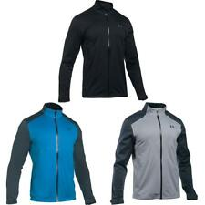 Under Armour Golf Storm 3 Hombre Impermeable Cremallera Completa Chaqueta