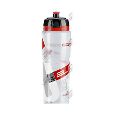 BORRACCIA ELITE MAXICORSA 950ML TRASPARENTE BICI BIKE ROAD WATER BOTTLE