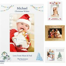 Personalised Christmas Xmas Photo Frame 1st Christmas Gift Present Idea