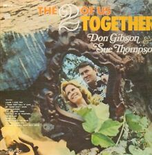 LP Don Gibson & Sue Thompson The 2 Of Us Together NEAR MINT Hickory Records