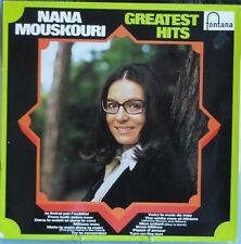 Nana Mouskouri Greatest Hits Fontana Vinyl LP