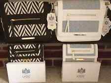 LYDC Designer Shoulder Bag And Matching LYDC Purse with Gift Box