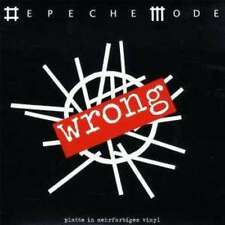 Depeche Mode Wrong RED MARBLED, NUMBERED Vinyl Single 7inch NEW OVP Mute