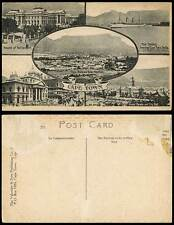 Cape Town Old Postcard Mail Steamer, Standard Bank Adderley Street, Grand Parade