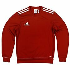 adidas Performance Homme ESS 3 S SWT Haut sweat-shirt sweat pull rouge