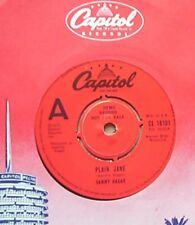 """SAMMY HAGAR PLAIN JANE 7"""" DEMO 1979 WITH WOUNDED IN LOVE UK"""