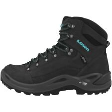 LOWA Renegade GTX Mid Women Gore-Tex Outdoor Hiking Schuhe anthrazit 320945-9768
