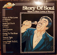 2xLP Percy Sledge, Sam and Dave,.. Story Of Soul When A Man Loves A Woman
