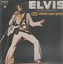 LP Elvis Presley As Recorded At Madison Square Garden STILL SEALED NEW OVP