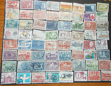 Denmark - used - 64 stamps - D-8