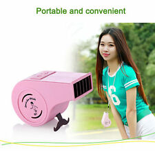 Portable Handheld USB Mini Air Conditioner Cooler Fan W/ Rechargeable Battery