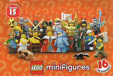 LEGO MINIFIGURES 71011 71012 71013 71018 SERIE 15 16 17 DISNEY various available