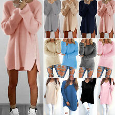 Women Long Sleeve Jumper Tops Pullover Ladies Knitted Sweater Casual Loose Tops