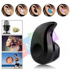 Mini Wireless Bluetooth 4.0 Stereo In-Ear Headset Earphone for iPhone Cell Phone