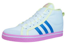 adidas Honey Stripes Up Donna Mid Top Sneakers - Scarpe - Bianca D66039