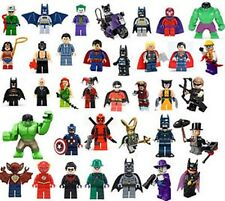 SUPER HEROES CUSTOM MINIFIGURES PICK YOUR OWN  fit with lego NEW