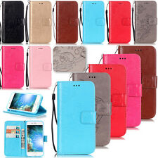 KMYB Embossing Leather Case Cover For Apple iPhone 7 6S 6 Plus 5S 5C 4 Touch 6th