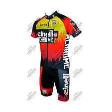COMPLETO SANTINI TEAM CINELLI CHROME 2016 ESTIVO SUMMER CICLISMO CYCLING SET KIT