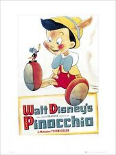 Pinocchio Original Movie Score Walt Disney's Pinocchio Kunstdruck 30 x 40 cm