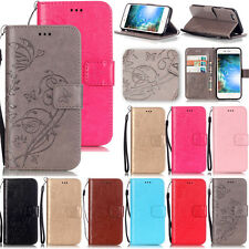KMYB Embossing Leather Wallet Case Cover For Apple iPhone 7 6S 6 Plus 5S Touch 6