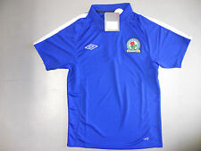 Polo Shirt Blackburn Rovers 10/11 Orig. Umbro Gr S M neu