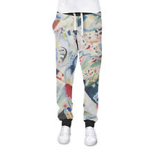 Kandinsky Abstract Art Painting Cuffed Joggers Womens Sweatpants Jogging Bottoms