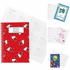 Personalised 2019 Diary for Kids Children Boys Girls School Diaries Gift Idea