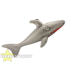 INFLATABLE SHARK BLOW UP FANCY DRESS PARTY HEN STAG TOY BULK HOLIDAY ACCESSORY